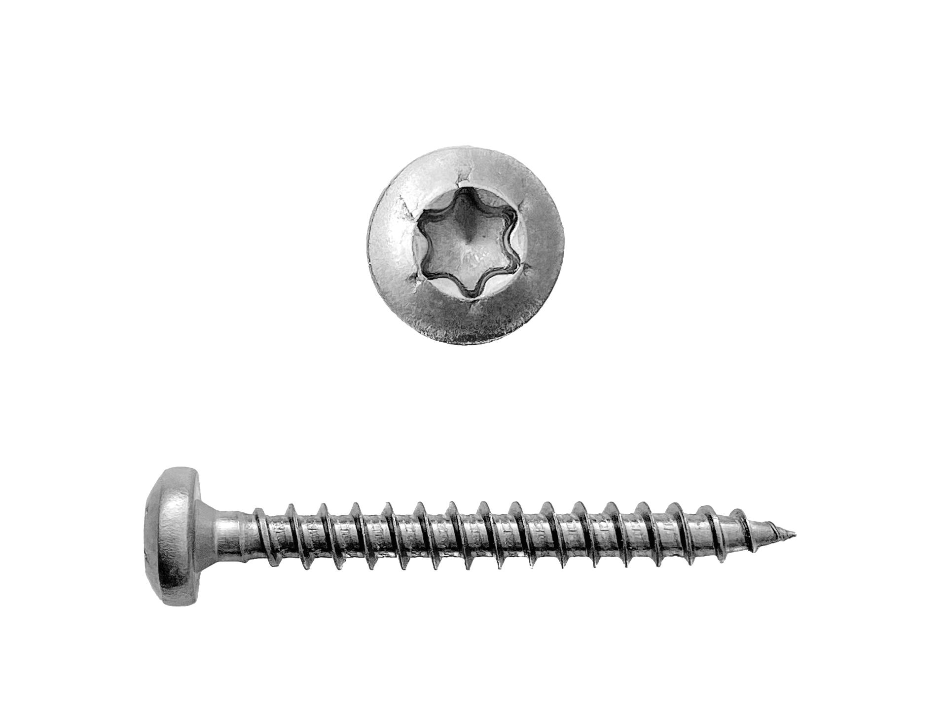 SPAX Schrauben Edelstahl 4 x 35 mm Torx