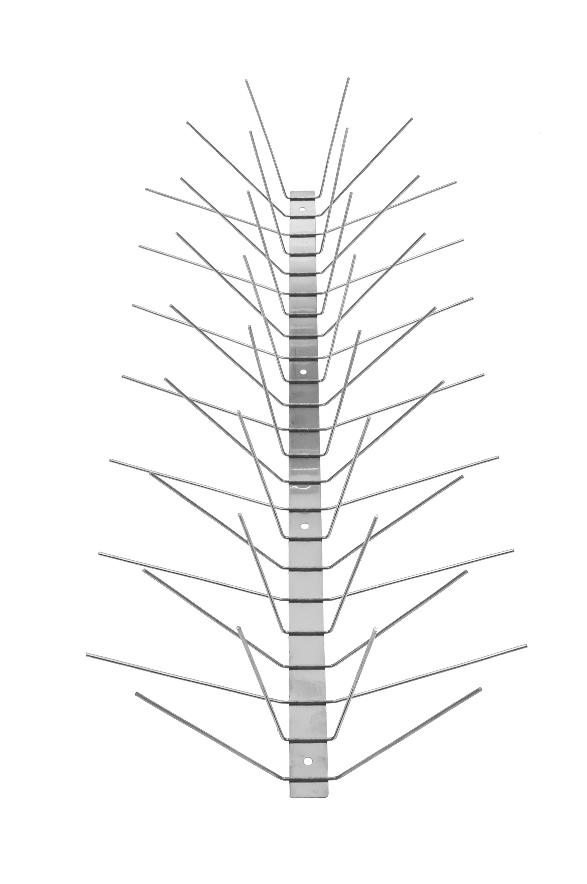 TAS 6er Taubenabwehrspitzen 50 cm lang, Taubenspitzen 2.0 mm aus Edelstahl Rostfrei