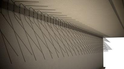 Schwalben-Spitzen 1m lang, Spitzen (Federdraht) 115 und 145 mm lang aus Edelstahl