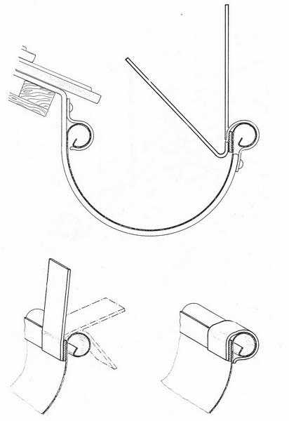 TAS DR Taubenabwehrspitzen für Dachrinne 50 cm lang, Taubenspitzen 2 mm stark aus Edelstahl Rostfrei
