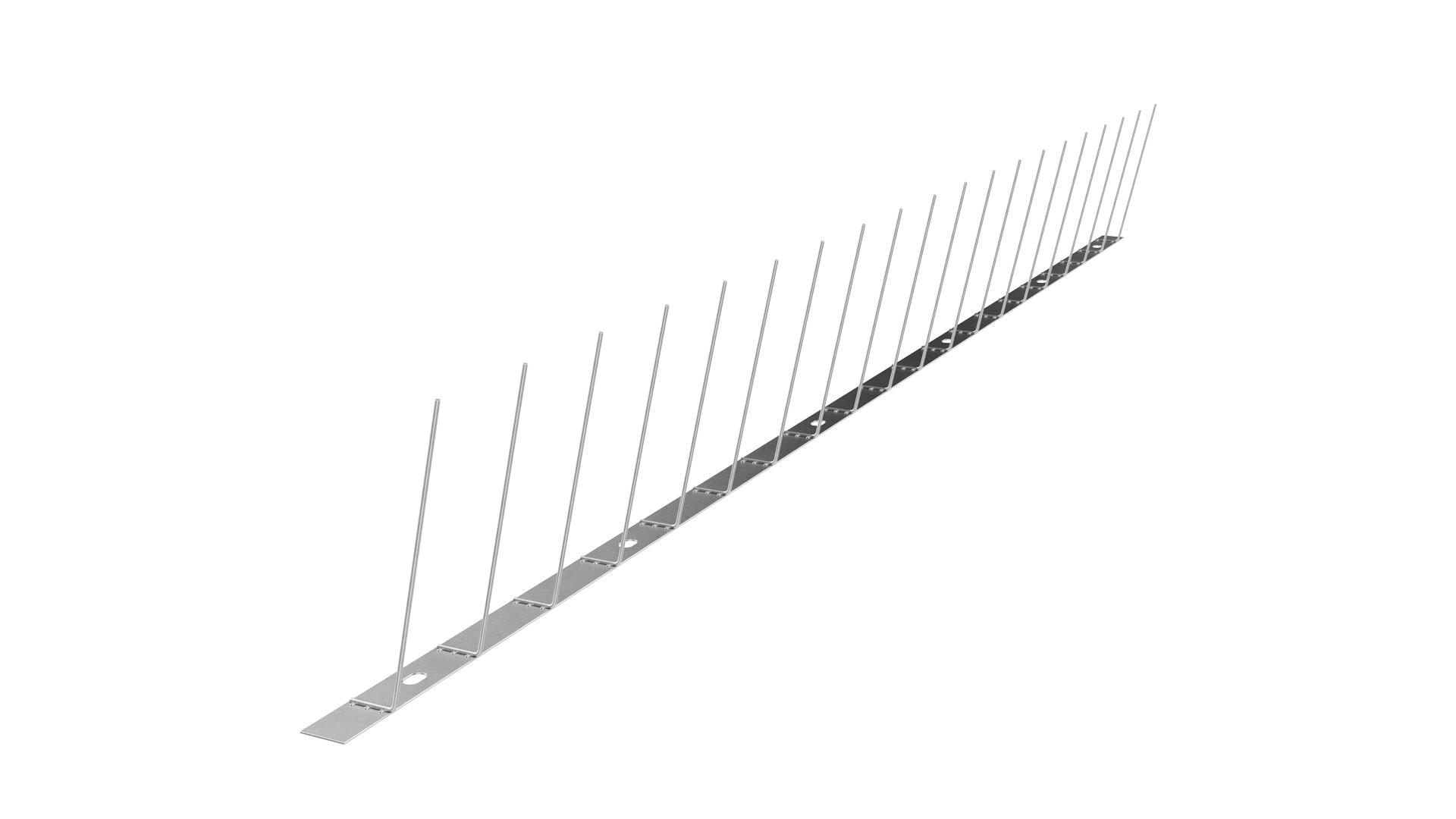 TAS 1er Taubenabwehrspitzen 1 m lang,Taubenspikes 1.8 mm stark aus Edelstahl Rostfrei