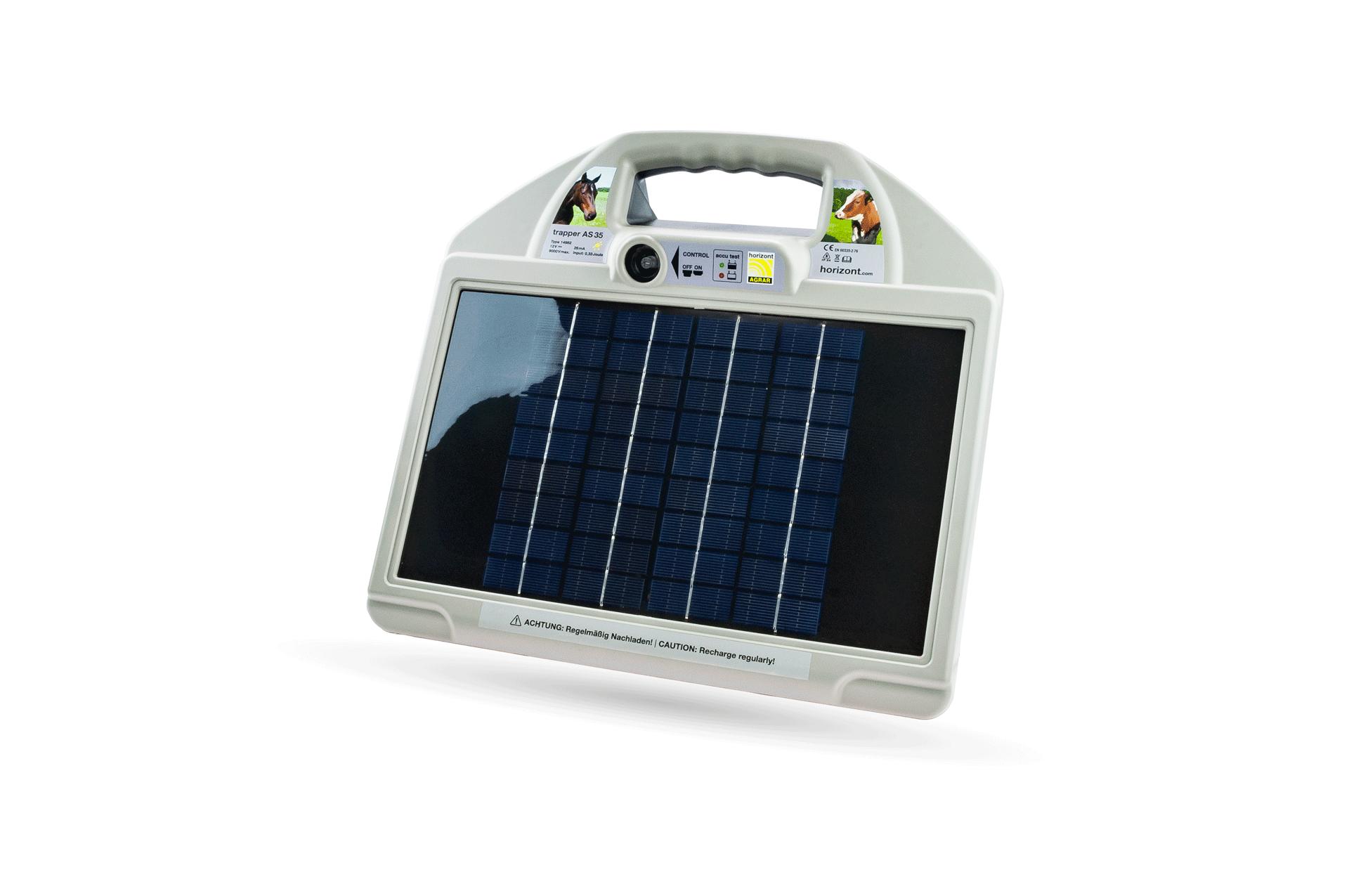 Trapper AS 35 Solargerät