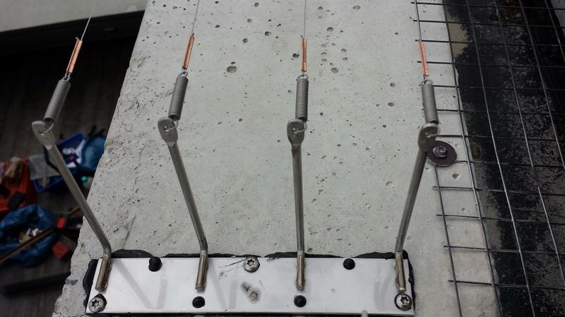 VESPA 4er Pin auf Platte mit Unterflugschutz