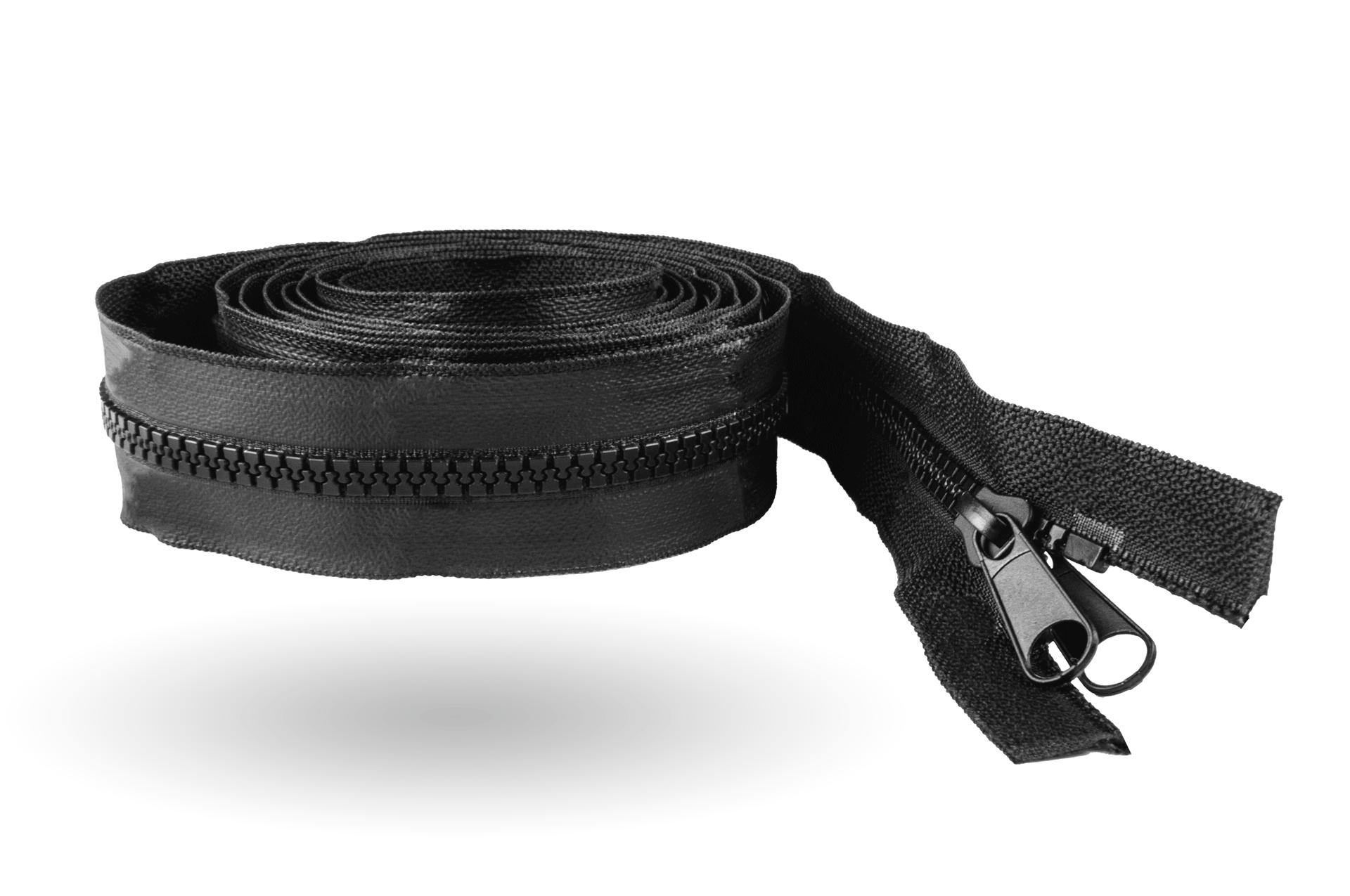 Reißverschluss 30 mm breit (Schwarz)