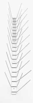 TAS 3er Taubenabwehrspitzen 50 cm lang, Taubenspikes 2.0 mm stark aus Edelstahl Rostfrei