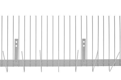 TAS Rinne Spikes 1 m lang, Kleinvogelabwehr wie Spatz oder Sperling aus Edelstahl