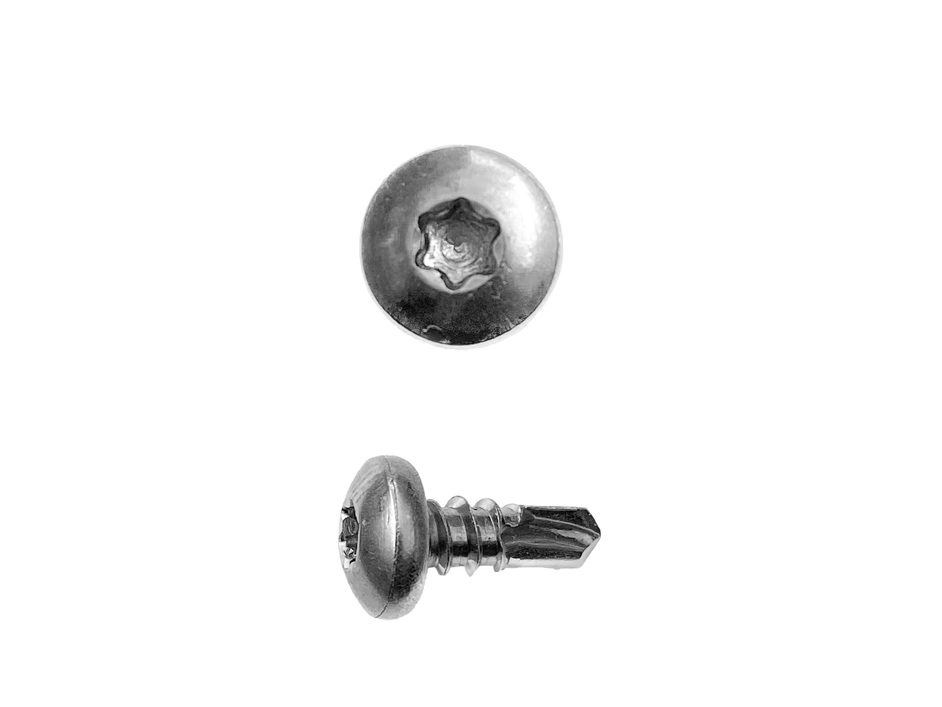 Bohrschrauben Edelstahl 3.5 x 16 mm