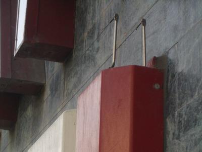 VESPA 2er Pin auf Platte mit Unterflugschutz