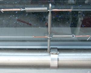 VESPA Rohrhalter 1er D 40-50 mm mit Unterflugschutz + Mutter und Schraube M5