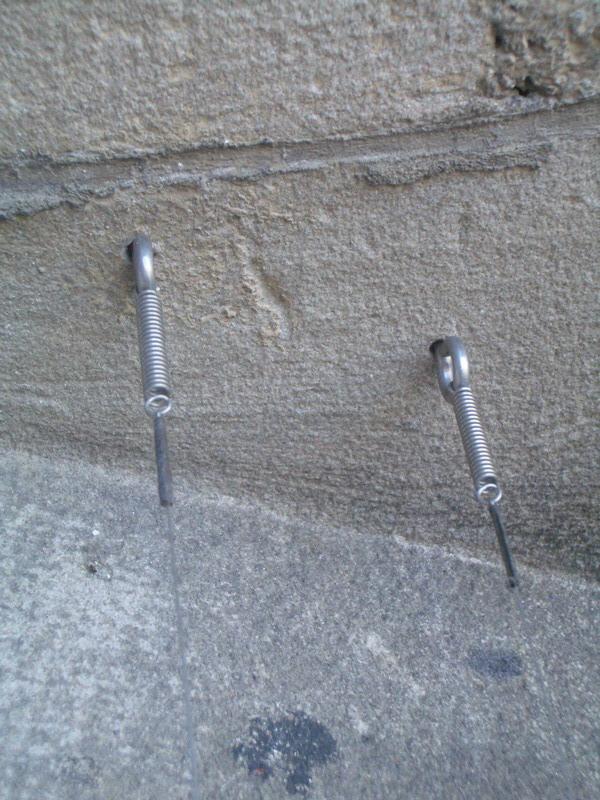 Ösenschrauben 25x6 mm aus Edelstahl Rostfrei
