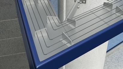 ES System komplett mit Keramik Isolatoren aus Cordierit und 1.5 m langen Stangen