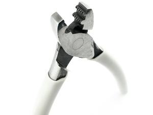 Klemmzange für Klemmhülsen mit zwei Einkerbungen für VESPA und ES Systeme 145 mm lang