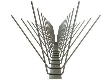 TAS 4er Taubenabwehrspitzen 50 cm lang aus Edelstahl Rostfrei